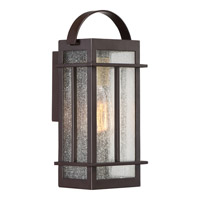 Quoizel Crestview 1 Light Wall Lantern in Western Bronze CVW8406WTFL