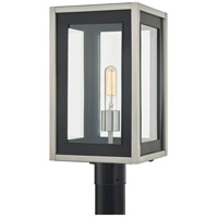 Quoizel CVY9009MBK Convoy 1 Light 17 inch Matte Black Outdoor Post Lantern