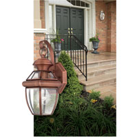 Quoizel Lighting Newbury 1 Light Outdoor Wall Lantern in Pewter NY8315P alternative photo thumbnail