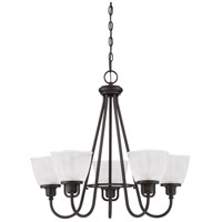 Quoizel DBN5005K Dublin 5 Light 26 inch Mystic Black Chandelier Ceiling Light alternative photo thumbnail