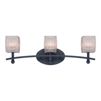 Quoizel Duncan 3 Light Bath Light in Weathered Bronze DCN8603WB