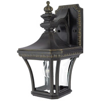 Quoizel Lighting Devon 1 Light Outdoor Wall Lantern in Imperial Bronze DE8958IB