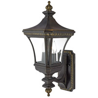 Devon 2 Light 21 inch Imperial Bronze Outdoor Wall Lantern