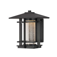 Quoizel Lighting Destin Outdoor Wall Lantern in Mystic Black DEN8508K photo thumbnail