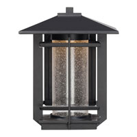 Quoizel Lighting Destin Outdoor Wall Lantern in Mystic Black DEN8508K alternative photo thumbnail