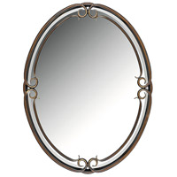 Quoizel DH44030PN Duchess 40 X 30 inch Palladian Bronze Mirror Home Decor