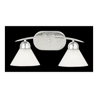 Quoizel Lighting Demitri 2 Light Bath Vanity in Polished Chrome DI8502C