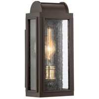 Quoizel DL8406WT Danville 1 Light 15 inch Western Bronze Outdoor Wall Lantern