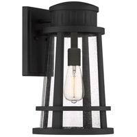 Quoizel DNM8410EK Dunham 1 Light 16 inch Earth Black Outdoor Wall Lantern