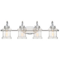 Quoizel DNY8604C Danbury 4 Light 32 inch Polished Chrome Bath Light Wall Light