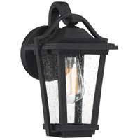 Quoizel DRS8407EK Darius 1 Light 12 inch Earth Black Outdoor Wall Light
