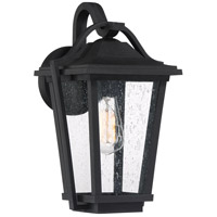 Quoizel DRS8409EK Darius 1 Light 15 inch Earth Black Outdoor Wall Light