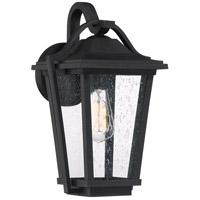 Quoizel DRS8409EK Darius 1 Light 15 inch Earth Black Outdoor Wall Light