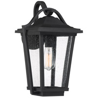 Quoizel DRS8411EK Darius 1 Light 18 inch Earth Black Outdoor Wall Light