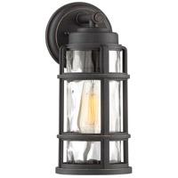 Quoizel DST8406PN DeSoto 1 Light 13 inch Palladian Bronze Outdoor Wall Lantern