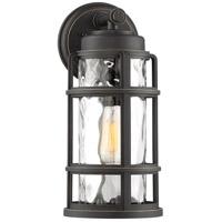 Quoizel DST8407PN Desoto 1 Light 16 inch Palladian Bronze Outdoor Wall Lantern