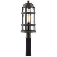 Quoizel DST9009PN Desoto 1 Light 22 inch Palladian Bronze Outdoor Post Lantern