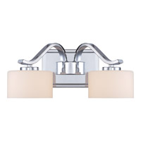 Quoizel Devlin 2 Light Bath Light in Polished Chrome DVN8602C