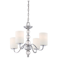 Quoizel Lighting Downtown 4 Light Chandelier in Polished Chrome DW5004C