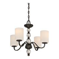 Quoizel DW5004D Downtown 4 Light 22 inch Dusk Bronze Chandelier Ceiling Light