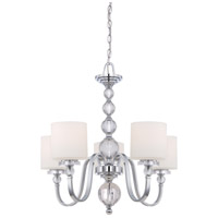 Quoizel Lighting Downtown 5 Light Chandelier in Polished Chrome DW5005C