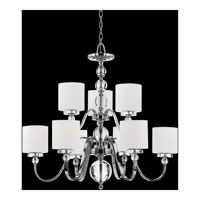 Quoizel DW5009C Downtown 9 Light 36 inch Polished Chrome Chandelier Ceiling Light  alternative photo thumbnail