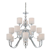 Quoizel DW5015C Downtown 15 Light 44 inch Polished Chrome Chandelier Ceiling Light alternative photo thumbnail