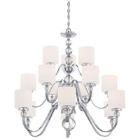 Quoizel Lighting Downtown 15 Light Chandelier in Polished Chrome DW5015C