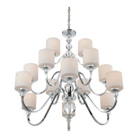 Quoizel DW5015C Downtown 15 Light 44 inch Polished Chrome Chandelier Ceiling Light DW5015C_3.jpg thumb