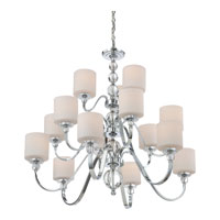 Quoizel DW5015C Downtown 15 Light 44 inch Polished Chrome Chandelier Ceiling Light DW5015C_4.jpg thumb