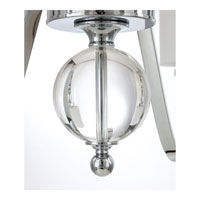 Quoizel DW5015C Downtown 15 Light 44 inch Polished Chrome Chandelier Ceiling Light DW5015C_5.jpg thumb