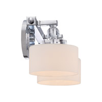 Quoizel Downtown 2 Light Bath Light in Polished Chrome DW8602C alternative photo thumbnail