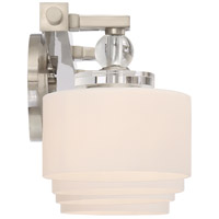 Quoizel DW8604BN Downtown 4 Light 34 inch Brushed Nickel Vanity Light Wall Light alternative photo thumbnail