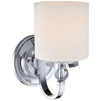 Downtown 1 Light 6 inch Polished Chrome Wall Sconce Wall Light