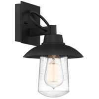 Quoizel EBY8407MB East Bay 1 Light 12 inch Mottled Black Outdoor Wall Lantern