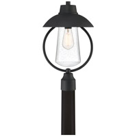 East Bay 1 Light 19 inch Mottled Black Outdoor Post Lantern