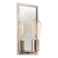 Quoizel Echo 1 Light Wall Sconce in Muted Silver EHO8701MX