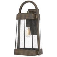 Quoizel ELL8410SU Ellington 1 Light 20 inch Statuary Bronze Outdoor Wall Lantern