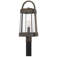 Quoizel ELL9010SU Ellington 1 Light 23 inch Statuary Bronze Outdoor Post Lantern