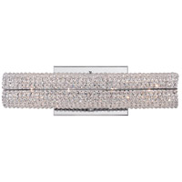 Evermore 4 Light 16 inch Polished Chrome Bath Light Wall Light