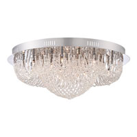 Quoizel Empress 9 Light Flush Mount in Polished Chrome EMP1616C