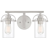 Quoizel EMR8602BN Emerson 2 Light 16 inch Brushed Nickel Vanity Light Wall Light