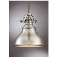Quoizel ER1508BN Emery 1 Light 8 inch Brushed Nickel Mini Pendant Ceiling Light  alternative photo thumbnail