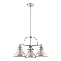 Quoizel ER5103IS Emery 3 Light 24 inch Imperial Silver Chandelier Ceiling Light