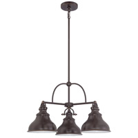 Quoizel ER5103PN Emery 3 Light 24 inch Palladian Bronze Chandelier Ceiling Light  alternative photo thumbnail