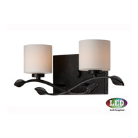 Erin LED 17 inch Imperial Bronze Bath Light Wall Light in Frosted LED G9