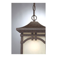 Quoizel Lighting Ethan 1 Light Outdoor Hanging Lantern in Imperial Bronze ETN1908IB alternative photo thumbnail