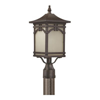 Quoizel Lighting Ethan 1 Light Outdoor Post Lantern in Imperial Bronze ETN9008IB alternative photo thumbnail