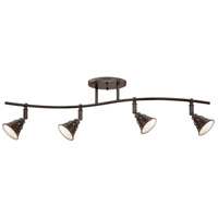 Quoizel Lighting Eastvale 4 Light Ceiling Track Light in Palladian Bronze EVE1404PN