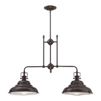 Quoizel EVE240PN Eastvale 2 Light 40 inch Palladian Bronze Island Light Ceiling Light alternative photo thumbnail